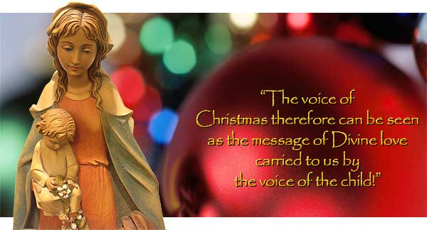 Catholica Commentary by Andrew Kania: The Voice of Christmas