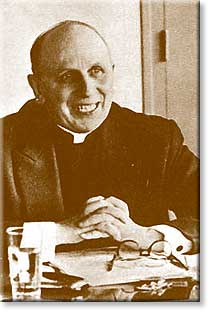 Yves Cardinal Congar one of the architects of Vatican II