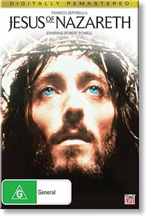 Jesus of Nazareth DVD cover