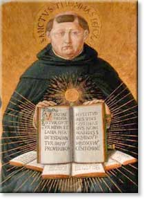 Icon of St Thomas Aquinas